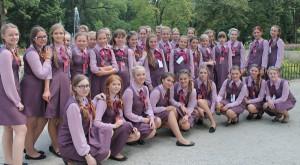 Choeur de jeunes filles Gama de Lituanie